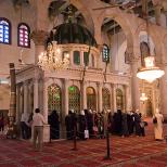 Capul Sfantului Ioan Botezatorul in Damasc