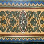 Detaliu brau ornamental (fresca)